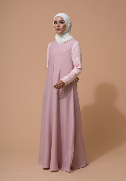 Alea Dress Seashell Pink