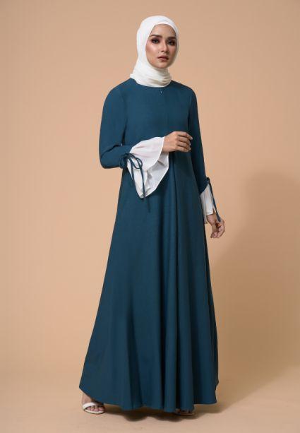 Gia Dress torm Green