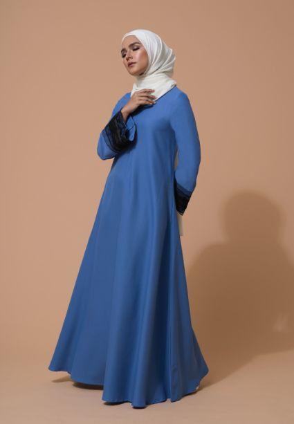 Aifa Dress Sweedish Blue