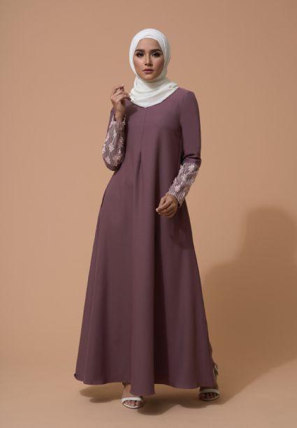 Farha Dress Twilight Mauve
